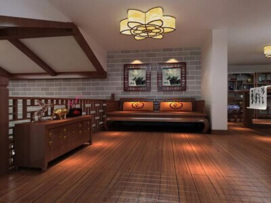 目前用于家居装修中的木地板因其在制作过程中所采用的原木材不同,其所具有的特性也有所不同,最重要的是不同木材其自身所具有的颜色也是有所不同的,而消费者在挑选室内木地板的过程中,除了要考虑其地板的各项基本技术质量之外,还要考虑其颜色的搭配,要知道不同木材其纹理是不相同的,自然其所体现的颜色以及透露出来的气息也是不同的,那么室内深色的木地板应当如何搭配呢?杉妹为您一一道来。    1、深色木地板比较适合大面积使用,不会让人觉得沉闷;而小空间不太适合使用深色木地板,会给人带来压抑的感觉,可以在专业设计师指导下